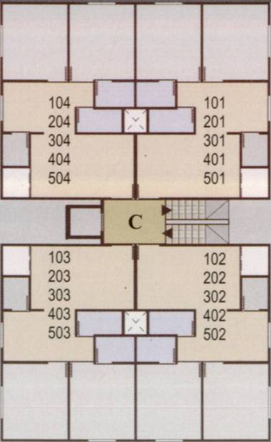 Images for Cluster Plan of Sakar Krupa Residency