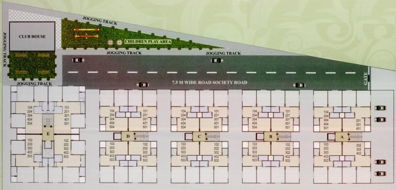 Images for Layout Plan of Sakar Krupa Residency