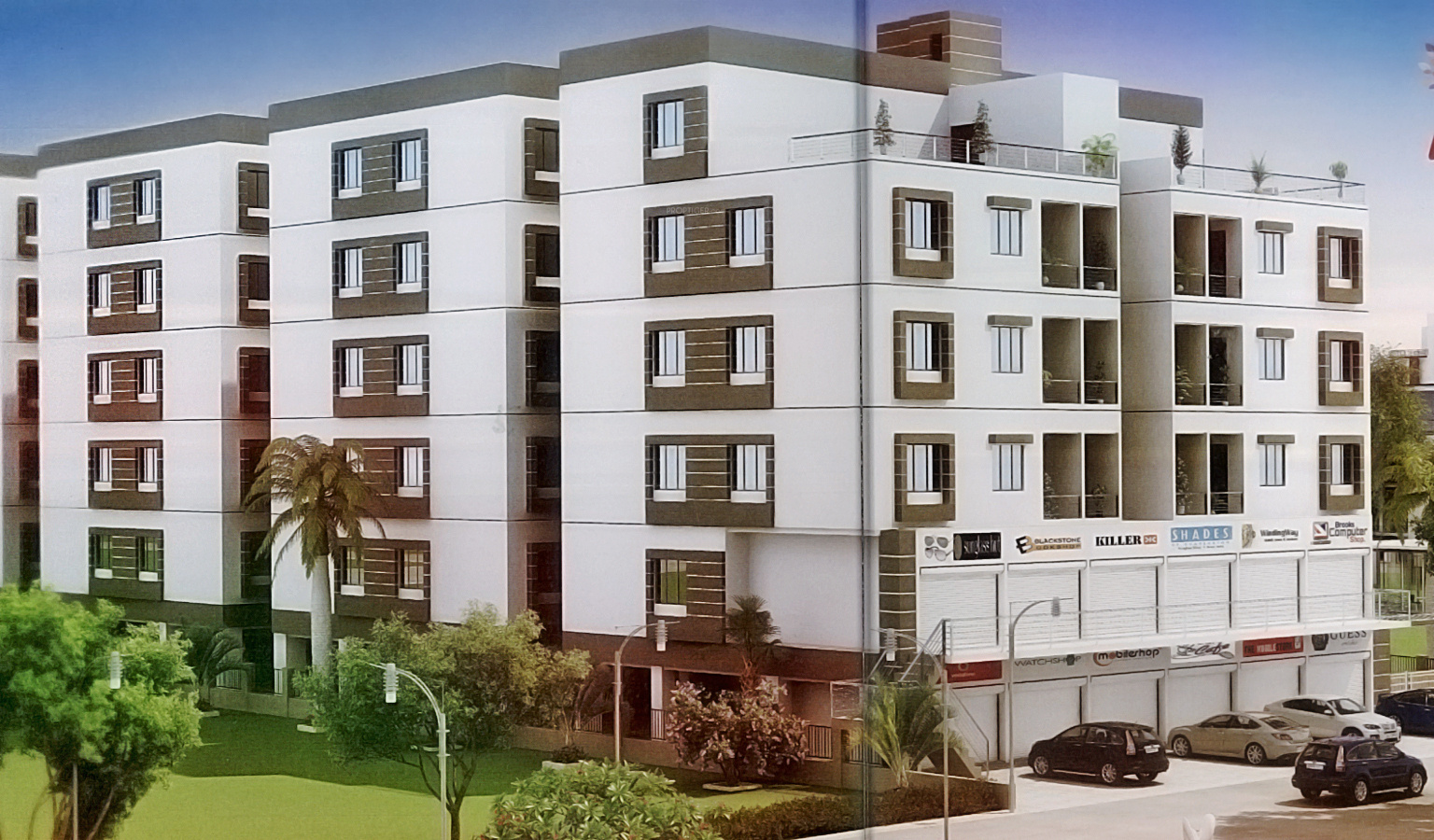 1000 Sq Ft 2 Bhk 2t Apartment For Sale In Sakar