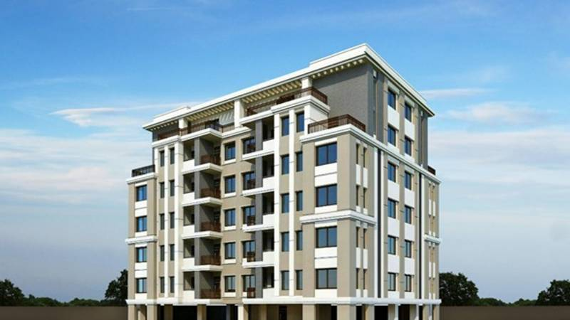 Images for Elevation of Shree Ganesh Developers Vadodara The Mark