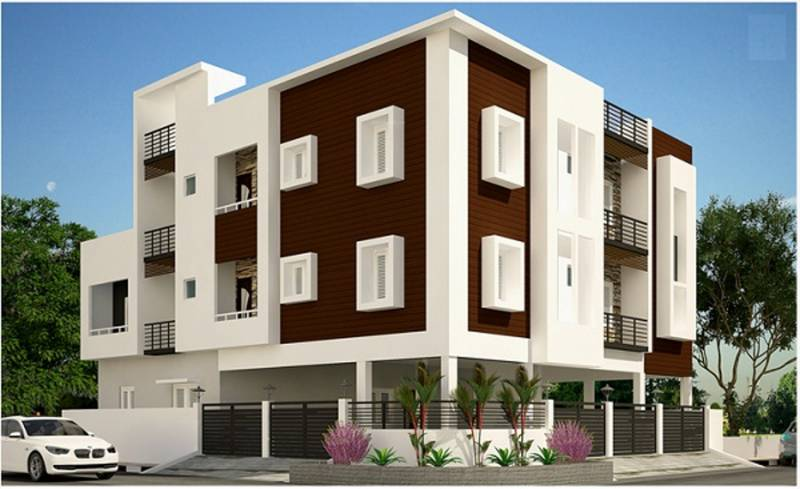 Images for Elevation of AA Construction Saral Flats