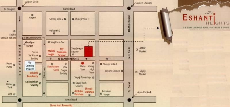 Images for Location Plan of Shivam Eshanti Height