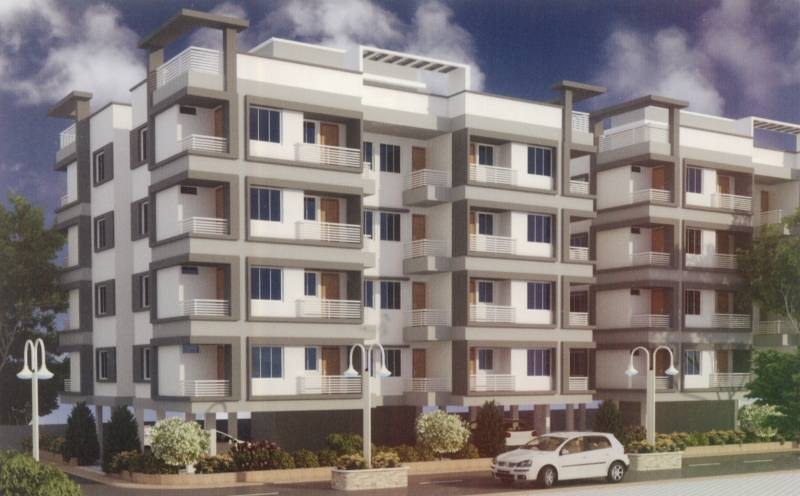 Images for Elevation of M R Construction Vadodara Omkaar Greens