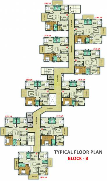 Images for Cluster Plan of Aditya Capitol Heights