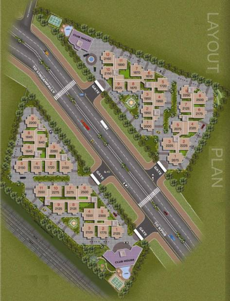 Images for Layout Plan of Aditya Capitol Heights