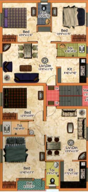 Images for Cluster Plan of Raj Shri Raghava
