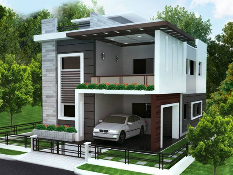 Images for Elevation of Vijetha Cyber Side Villas