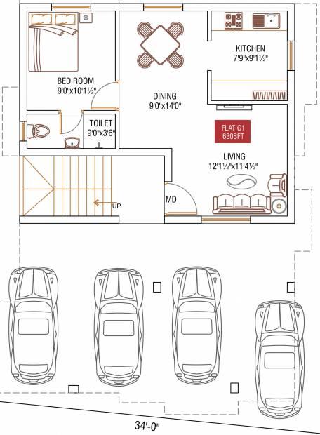 Images for Cluster Plan of Oyester Rojavanam