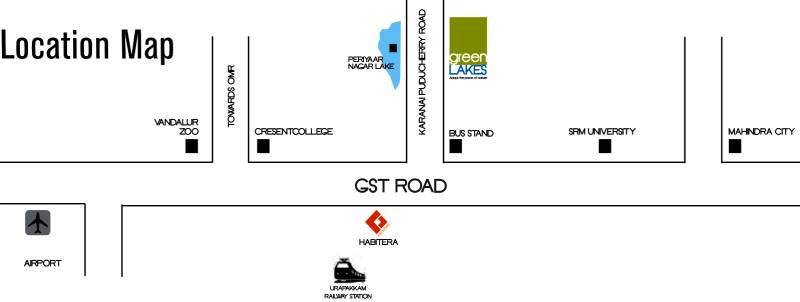 Images for Location Plan of Kriticons Green Lakes