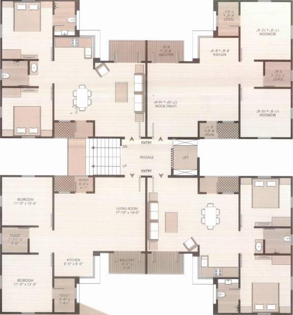 Images for Cluster Plan of Ravi Rudraksh