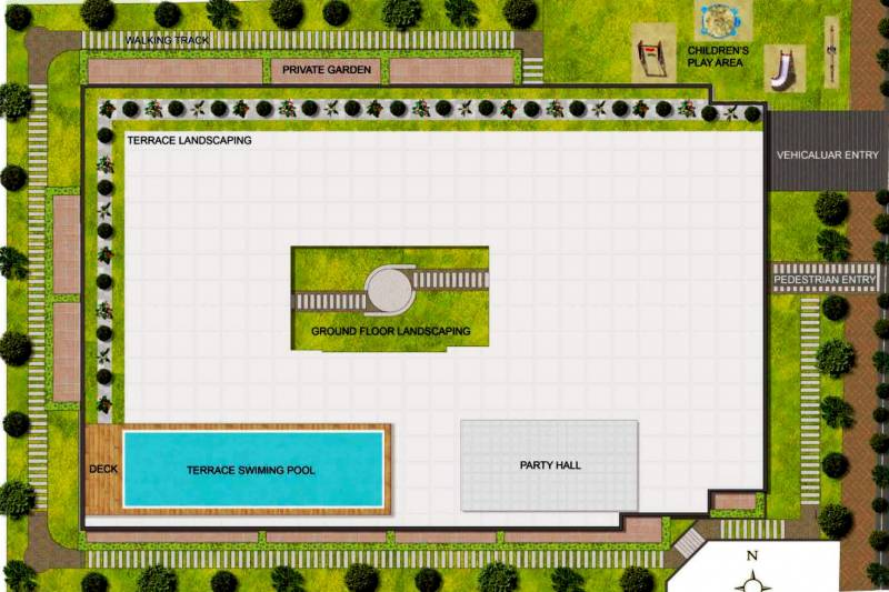 Images for Layout Plan of Sumukha Maple Grove