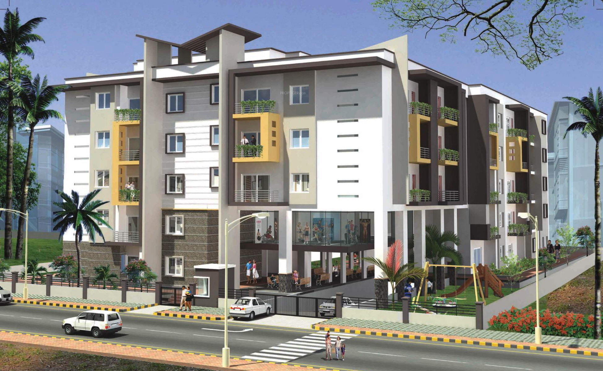 Sumukha maple grove in begur bangalore price location - Exterior paint calculator by square foot ...