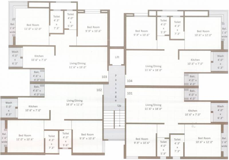 Images for Cluster Plan of Amar Krishna Palace 2