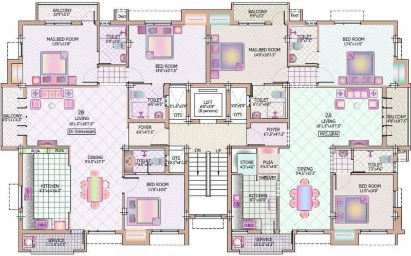 Images for Cluster Plan of GR Natarajan Holy Springs