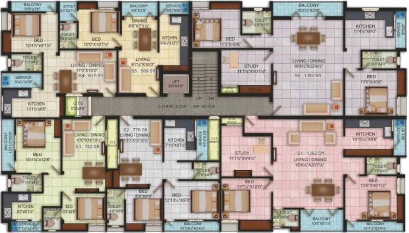 Images for Cluster Plan of Udhayam Sai Santhanam
