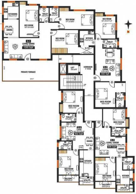 Images for Cluster Plan of Arjun Durja
