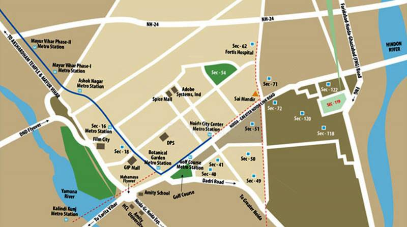 Images for Location Plan of Eldeco Aamantran