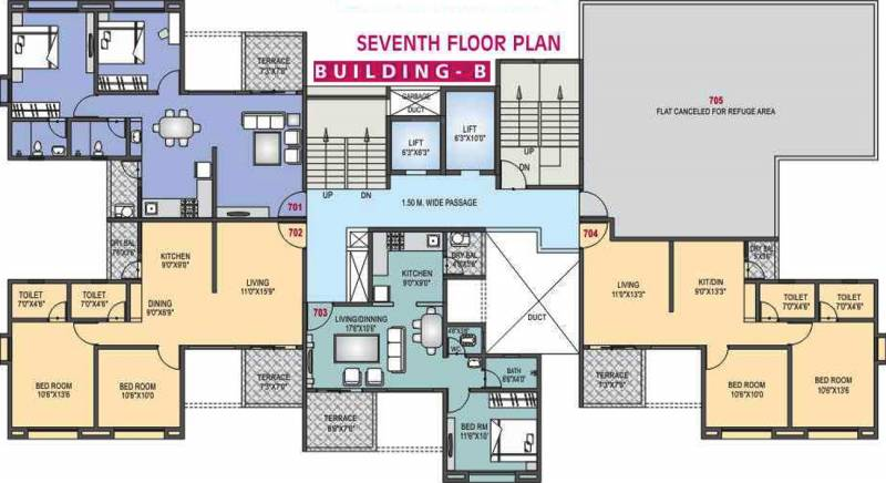 Images for Cluster Plan of RR Riddhi Siddhi Heights