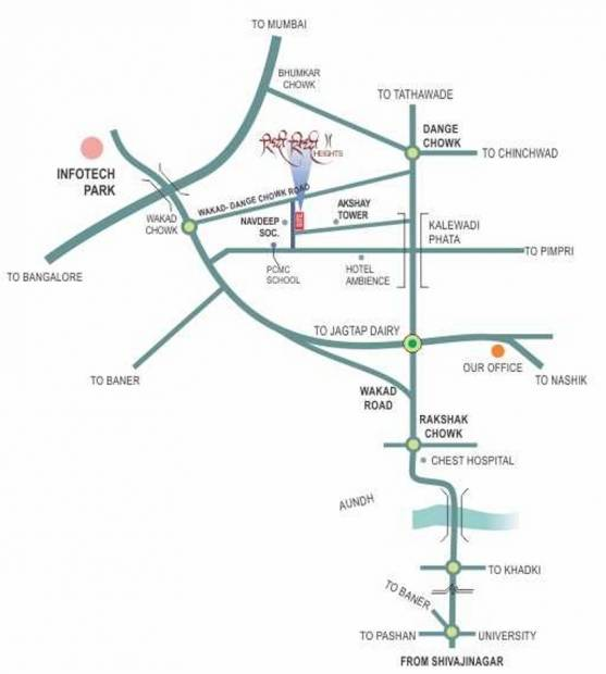 riddhi-siddhi-heights Images for Location Plan of RR Riddhi Siddhi Heights