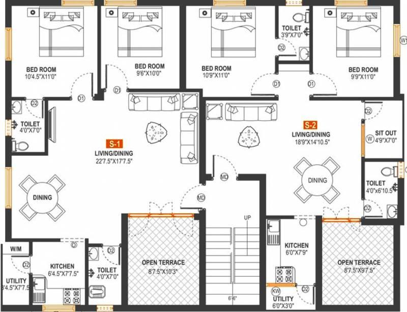 Images for Cluster Plan of Arjun Properties Maha Bala