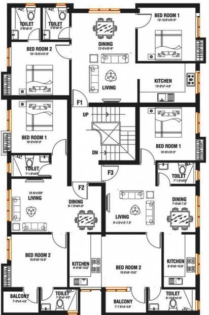 Images for Cluster Plan of Arjun Properties Vishwamukha