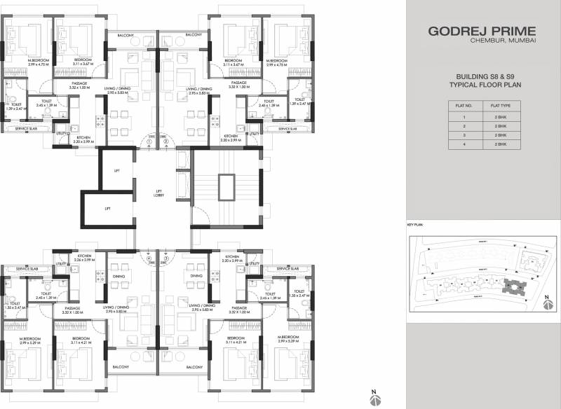 Images for Cluster Plan of Godrej Prime