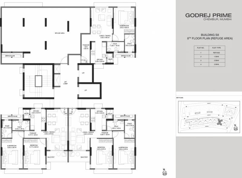 Images for Cluster Plan of Godrej Prime