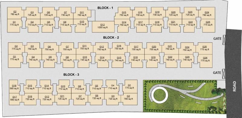 Images for Site Plan of Arun Saindhavi