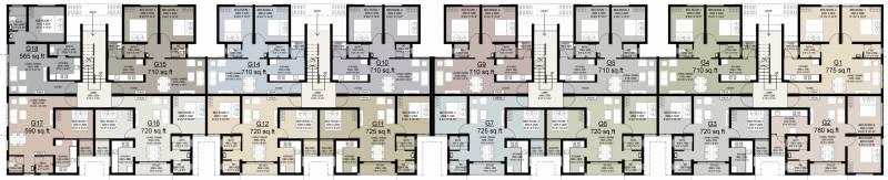 Images for Cluster Plan of Arun Saindhavi