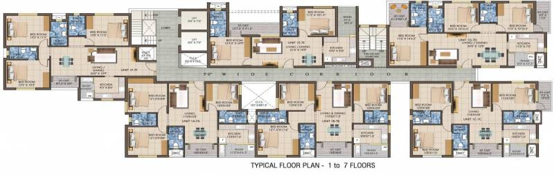 Images for Cluster Plan of Kriticons Jirawala Paradise