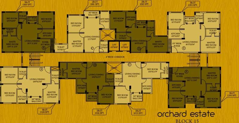 Images for Cluster Plan of Master Orchard Estate