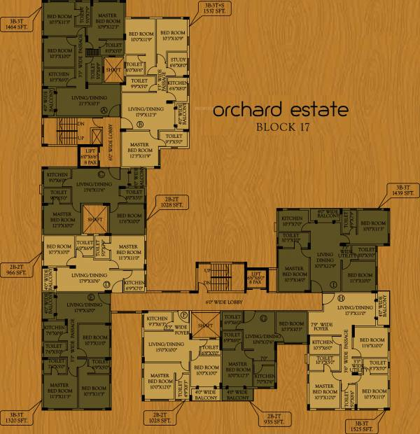 Images for Cluster Plan of Master Orchard Estate