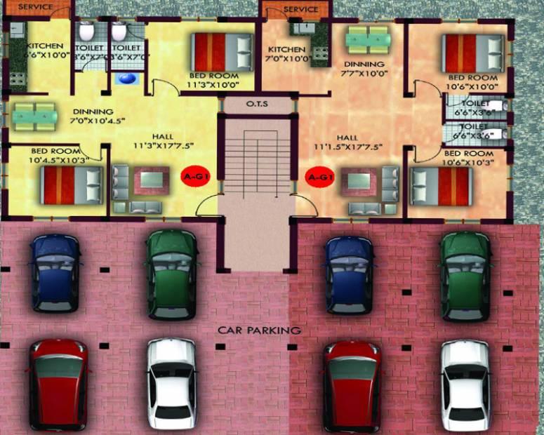 Images for Cluster Plan of Minnath Lexus