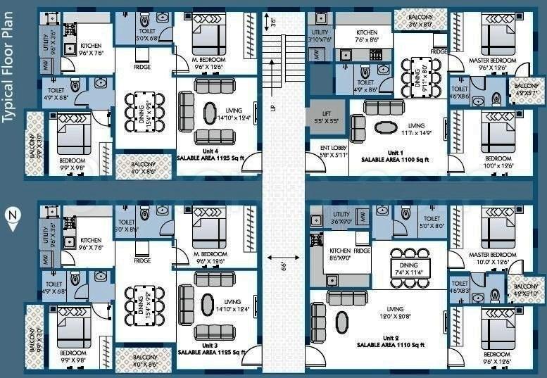 Images for Cluster Plan of Sapthagiri Ratna Elegance
