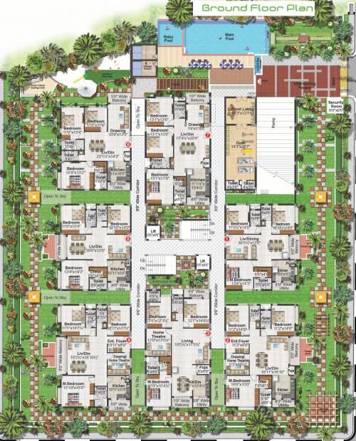 pride Images for Cluster Plan of Ayyanna Pride