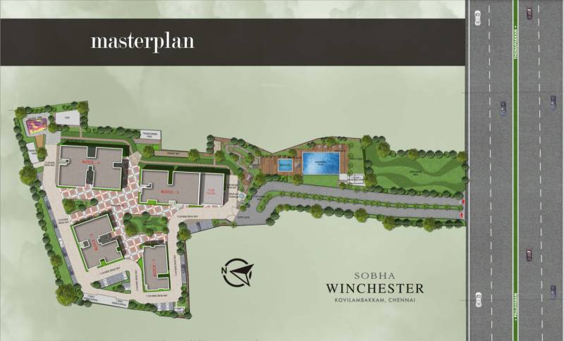 Images for Master Plan of Sobha Winchester