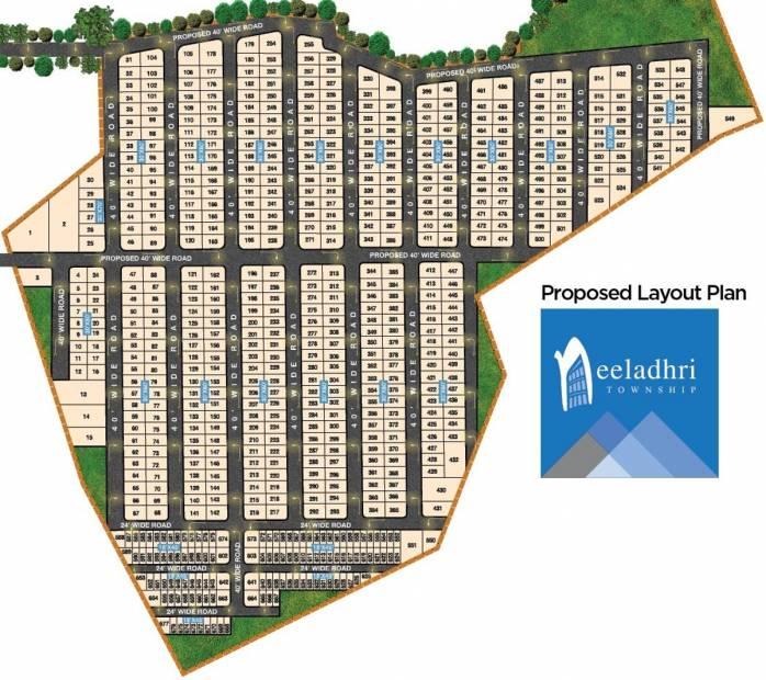 Images for Site Plan of Swathi Neeladhri Township