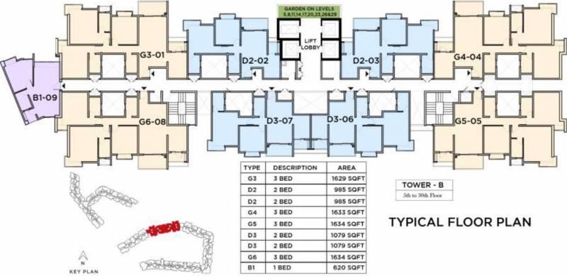 Images for Cluster Plan of Bhartiya Nikoo Homes 2