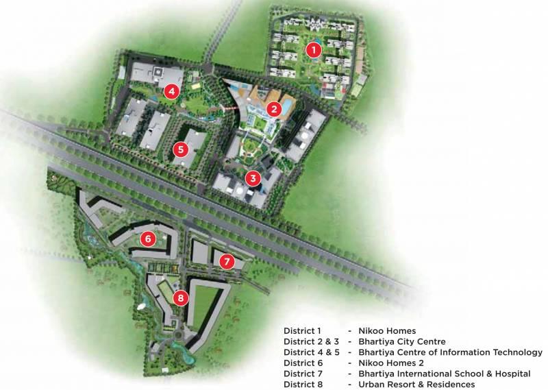 Images for Master Plan of Bhartiya Nikoo Homes 2