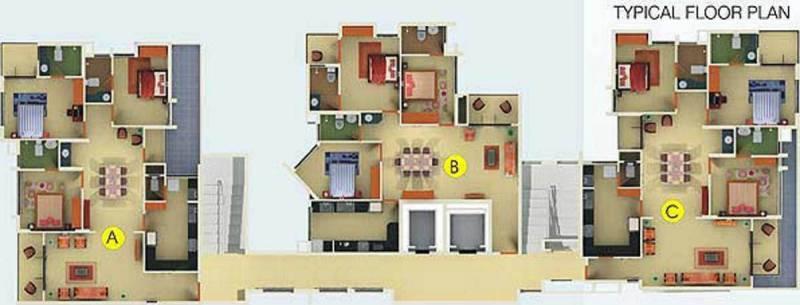 Images for Cluster Plan of Nutech Cherubs Skyvillas