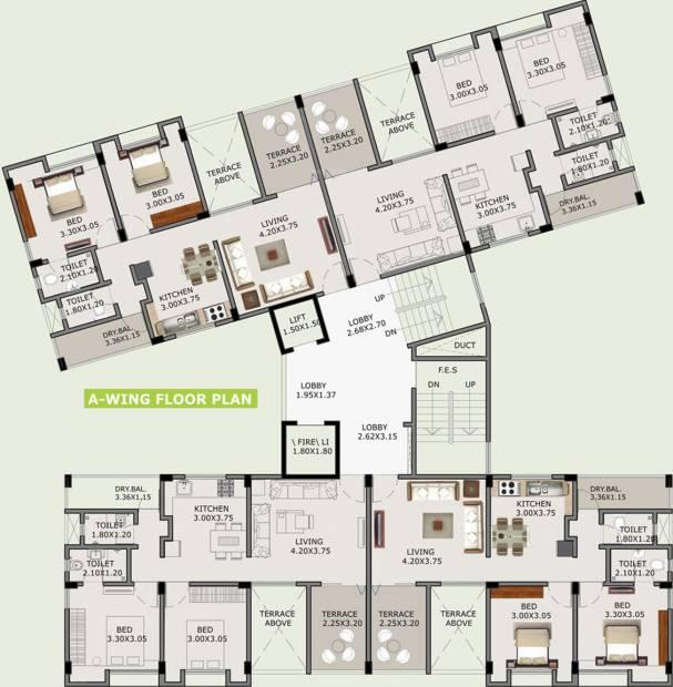 Images for Cluster Plan of Ivory Tathastu