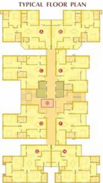 Images for Cluster Plan of ABAD Sunshine Court