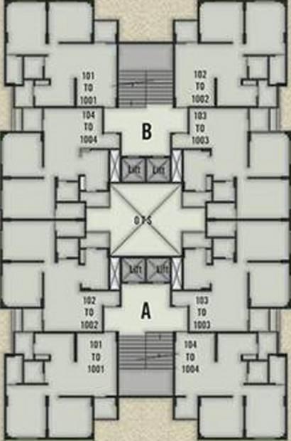 Images for Cluster Plan of Patidar Seventh Avenue