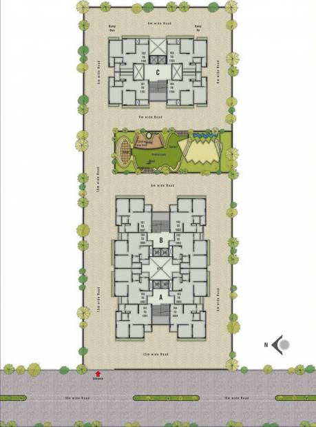 Images for Layout Plan of Patidar Seventh Avenue