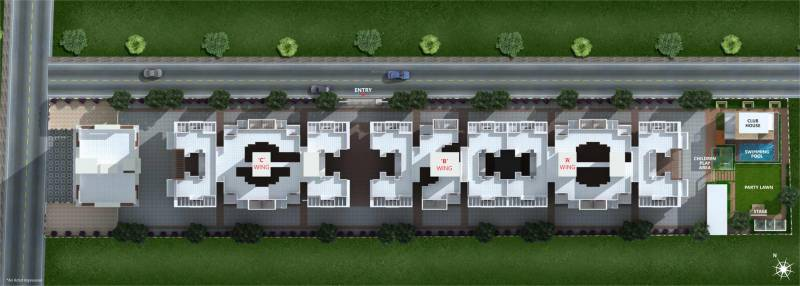 Images for Layout Plan of Omkar Namrata Gloria