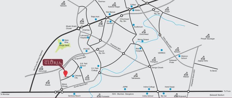 Images for Location Plan of Omkar Namrata Gloria