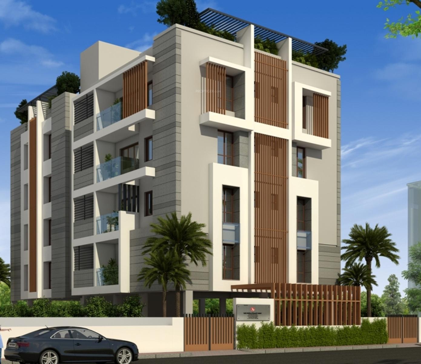 5 Floor Apartment Elevation : India marutha in egmore chennai price location map