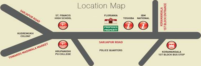 Images for Location Plan of Kolte Patil 24K Grazio