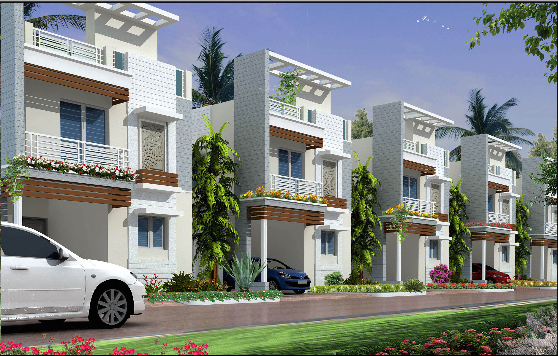 1354 Sq Ft 2 Bhk 2t Villa For Sale In Sree Balajee