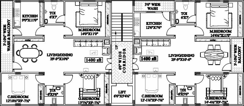 Images for Cluster Plan of Primark Sri Sai Residency